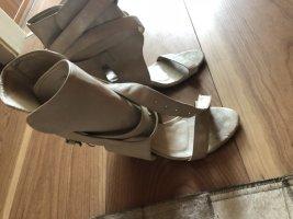 Sandały japonki biały