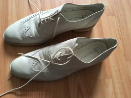 Accatino Wingtip Shoes beige leather