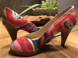 Peter Kaiser Peep Toe Pumps multicolored