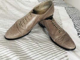Wingtip Shoes rose-gold-coloured