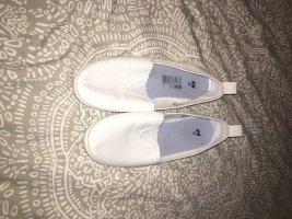 H&M Składane baleriny biały