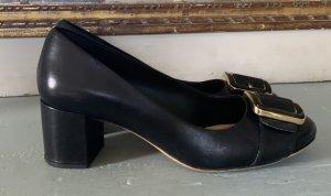 Clarks Originals Loafers zwart Leer