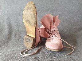 Görtz Shoes Stivale a gamba corta rosa pallido
