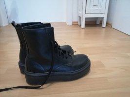 Asos Botas con cordones negro