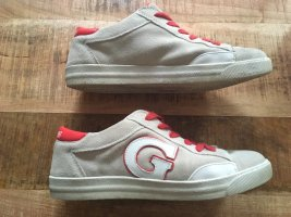 Guess Lace-Up Sneaker oatmeal