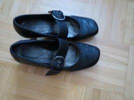 Schuhe, Leder, Pumps, Gr.36, schwarz, neuwertig
