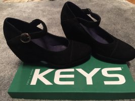 Keys Scarpa Mary Jane nero Pelle