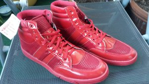 Schuhe - neu - rot - Gr. 42