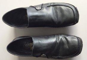 Schuhe Rieker Echtleder schwarz