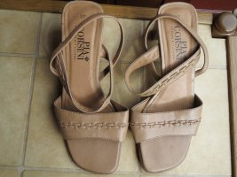Schuhe, Sandaletten, Gr.37, beige