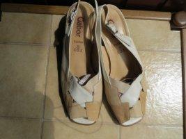 Schuhe, Sandaletten, Gr.39, beige