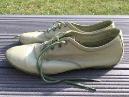 Liebeskind Scarpa stringata verde-grigio-verde chiaro Pelle