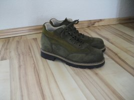 Schuhe, Trachtenschuhe, Gr.37, Oliv, Anna Country (131-AE)