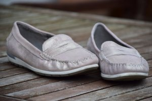 ara Slip-on Shoes rose-gold-coloured