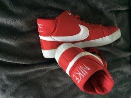 Nike Zapatillas altas blanco-rojo