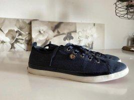 Schuhe von Tommy Hilfiger, Jeans-Optik / blau  Größe 40