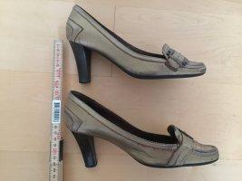 Schuhe Zara gold, Größe 36