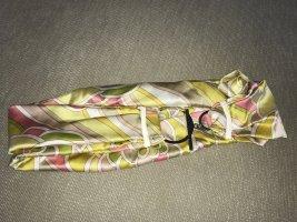 Schuhmacher Cintura in tessuto multicolore Seta