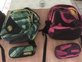 Nitro Sac à dos collège violet-vert