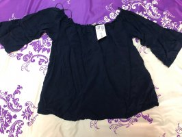 Orsay Off the shoulder top donkerblauw