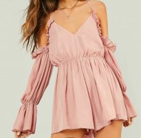 SheIn Twin Set tipo suéter rosa