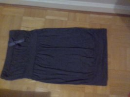 Bandeau Dress grey