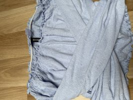 H&M Cut Out Top baby blue