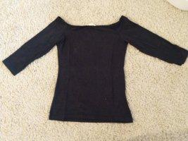 H&M Carmen Shirt dark blue