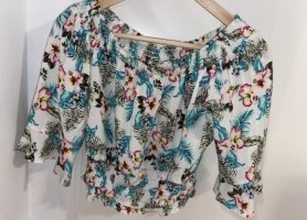 Tally Weijl Off-The-Shoulder Top multicolored