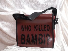 "Schultertasche ""who killed Bambi?"""