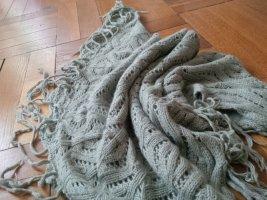 Comptoir des Cotonniers Schoudersjaal grijs-groen Wol