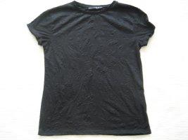 schwarz bluse t shirt neu gr s 36 atmosphere