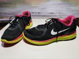 Schwarz bunte Turnsche Sneaker - Nike