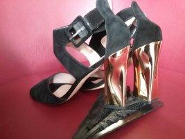 Baldinini Sandaletto con tacco alto nero Pelle
