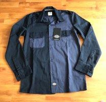 Dickies Camisa de leñador negro-gris
