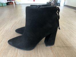 Schwarz High Heel Stiefel