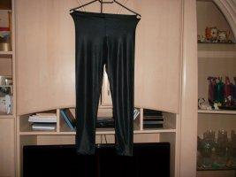 schwarz schimmernde legging,grösse 32/34,neu