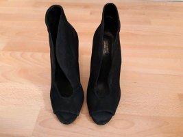 Schwarz Schutz Schuhe