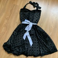 Petticoat Dress black-white