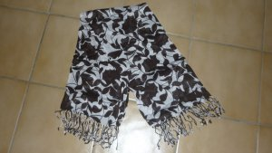 Esprit Neckerchief black-white cotton