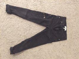 Mango Jeans a 7/8 nero