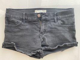Schwarze Abercrombie & Fitch Shorts