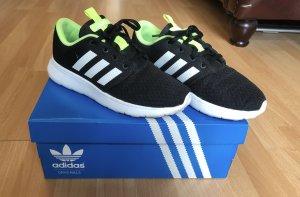 Schwarze Adidas Neo Turnschuhe 36 2/3