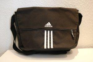 Schwarze Adidas Umhänge-/Sporttasche