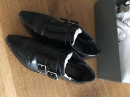 All Saints Scarpa monk strap nero Pelle