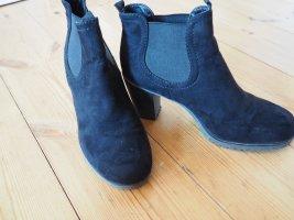 Graceland Ankle Boots black mixture fibre