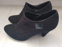 Schwarze Ankle Pumps 37,5 38 Damenschuhe Graceland