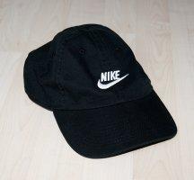 Nike Gorra de béisbol negro-blanco Algodón