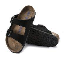 Birkenstock Comfortabele sandalen zwart-beige