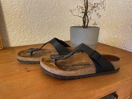 Schwarze Birkenstock Sandalen